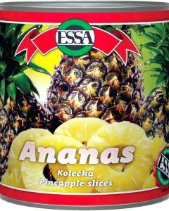 Ananas kolečka 3035g Essa