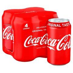 Coca Cola 4x0.33l plech