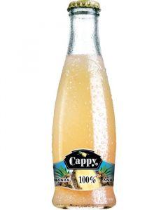 Cappy ananas 100% 0.2l sklo