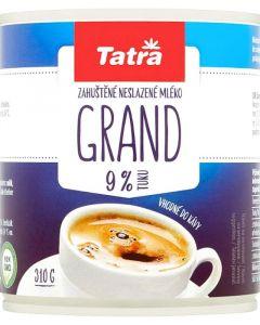 Mléko kondenzované Tatra 310g 9% Grand plech