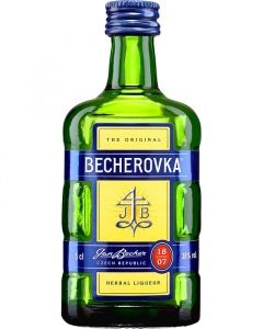 Mini Becherovka 38% 5 cl.