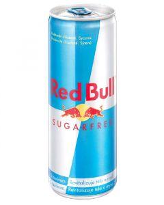 Red Bull light 0.25l plech