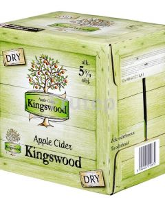 Kingswood Apple Cider DRY 5 % ,0.4l/12