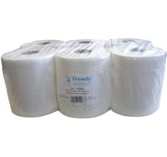 Papírové ručníky v roli Maxi bílé 6 ks/bal.