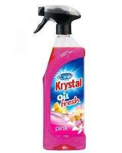 Krystal olej.osvěžovač růžový 750ml