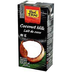 Kokosové mléko 1000ml Real Thai obsah tuku 20-22%