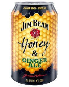 Jim Beam Honey + Ginger 4.6% 0.33l plech