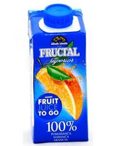 Fructal pomeranč 100% 0,2l TP Brick