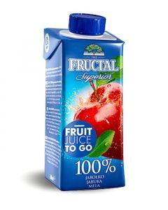 Fructal jablko 100% 0,2l TP Brick