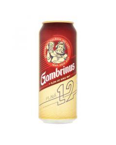 Gambrinus 12%  0.5l/24 plech