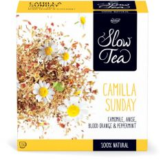 Pickw.Slow Tea Camilla Sunnday 25x3g