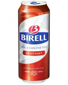 Birell polotmavé nealko 0.5l plech