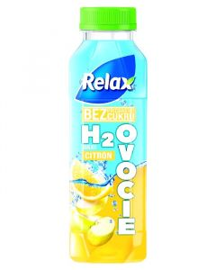 Relax H2Ovoce CITRON 0,4L PET