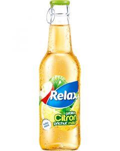 Relax citron-máta 0,25L sklo