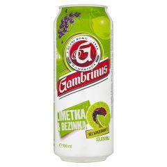 Gambrinus limet.-bez. 0.5l plech
